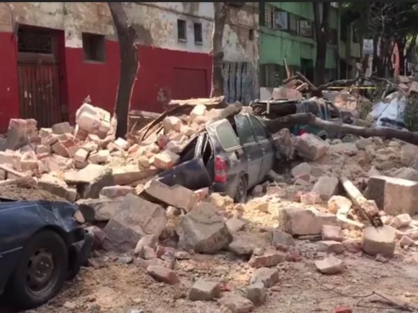 Мехико в руинах
