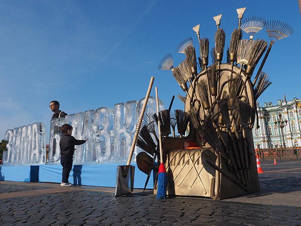 Кадр дня: Полтавченко показали, кто будет править этой зимой
