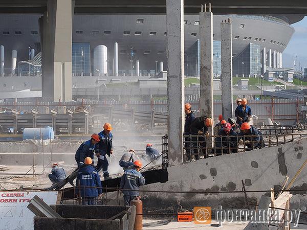 «Новокрестовская»: за полгода до финиша