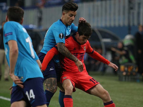 «Зенит» победил «Реал Сосьедад», Кокорин сделал дубль