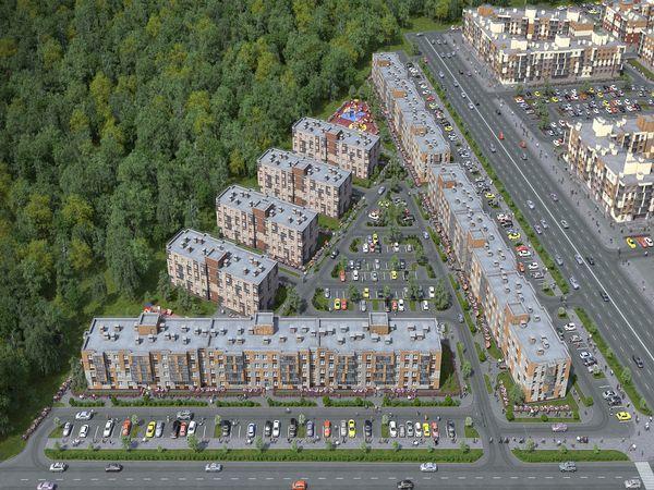 «Главстрой-СПб» открыл продажи в новых малоэтажных домах ЖК «Юнтолово»