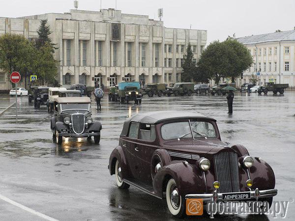 В Ярославль привезли блокадный Ленинград