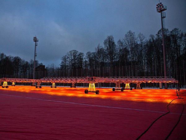 «Зенит» взял на себя ответственность за красное небо Петербурга