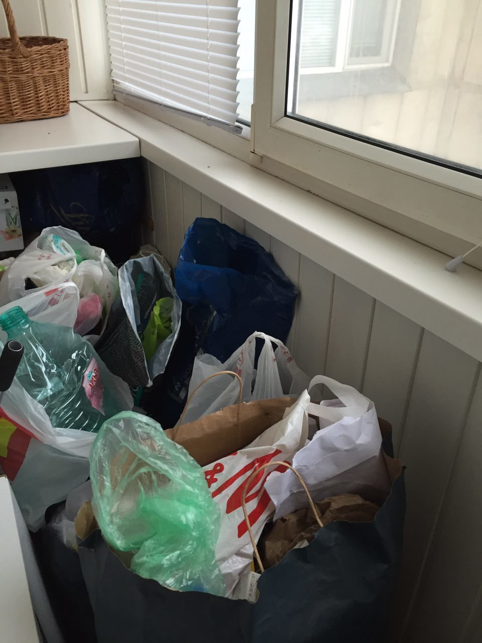 Что творится на балконе у Жени Любич, когда она пропускает акцию по сбору мусора