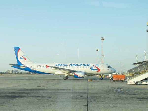 Новый рейс «Уральских авиалиний» из Санкт-Петербурга во Франкфурт