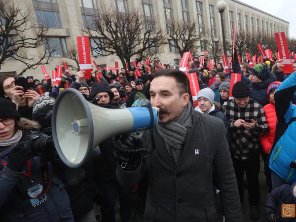 Десять километров за Навального