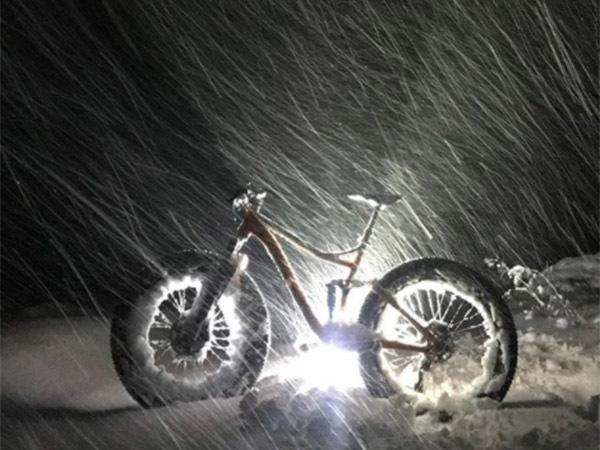 Финские дороги засыпают снегопады