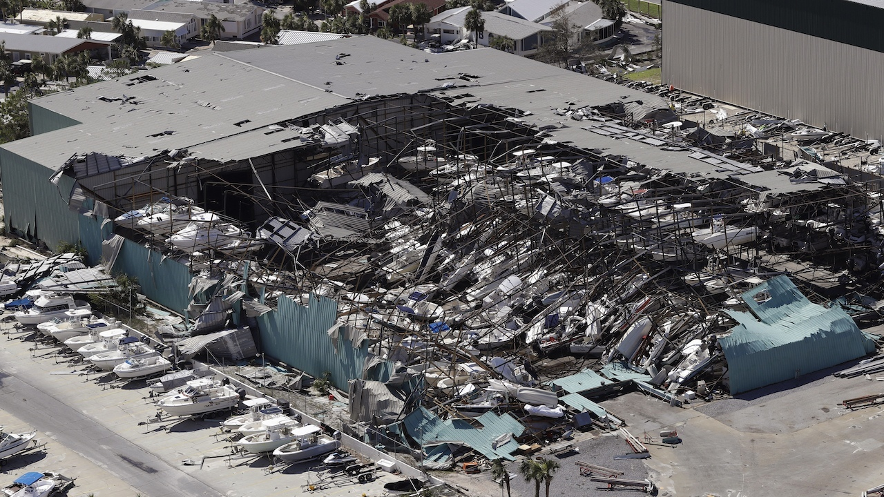 pictures from hurricane michael - 1280×720