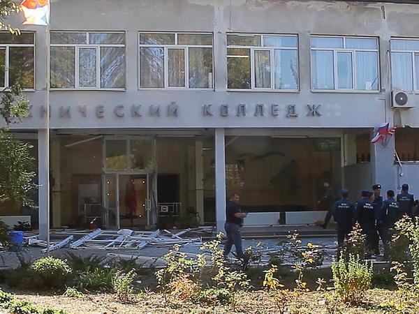 Взрыв и стрельба в Политехническом колледже в Керчи. Онлайн-трансляция