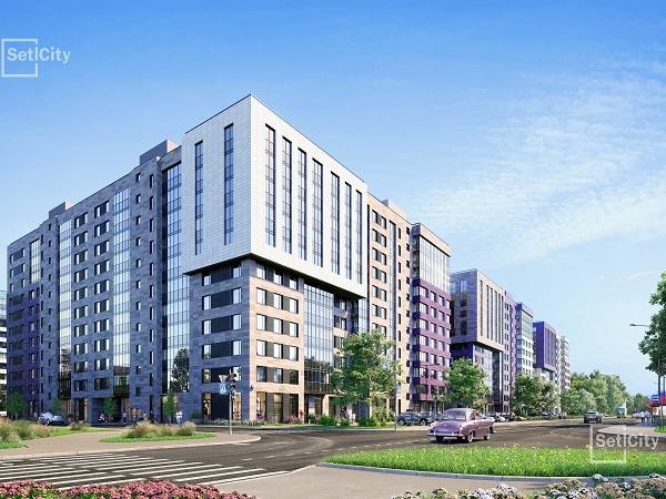 Setl City начала строить ЖК «ArtLine в Приморском» на Торфяной дороге