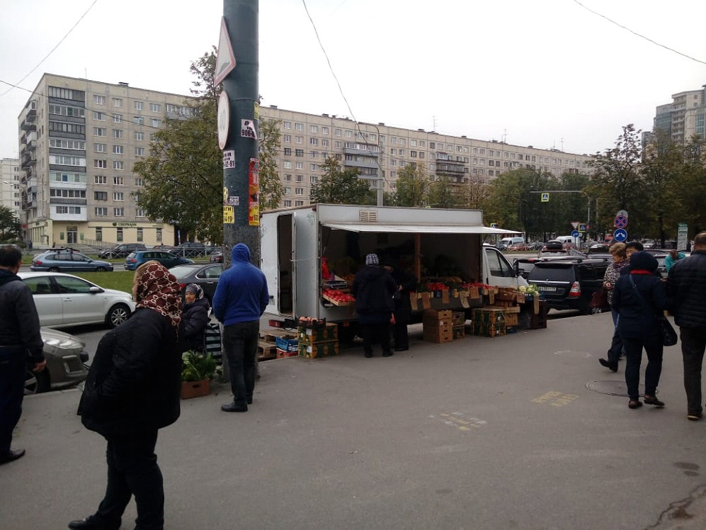 Гражданский пр., д. 114 (вблизи станции метро «Гражданский проспект»)