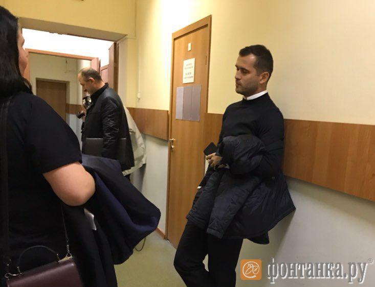 Александр Кержаков в суде
