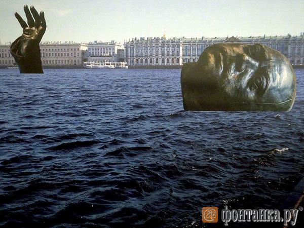Затопить Петра в Неве и увековечить корюшку с белкой: самые смелые предложения памятников с выставки Смольного