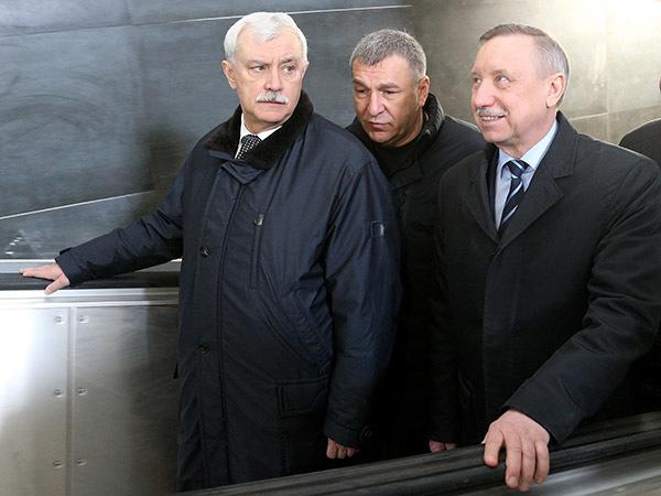 В Петербурге меняется губернатор. На место Полтавченко приходит Беглов