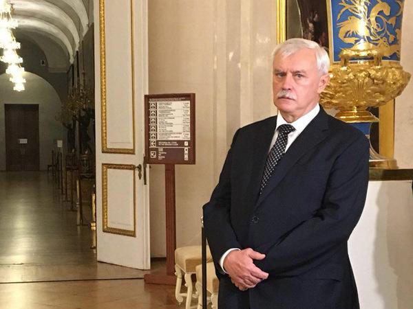 «С божьей помощью буду работать на благо отечества». Полтавченко прокомментировал свою отставку