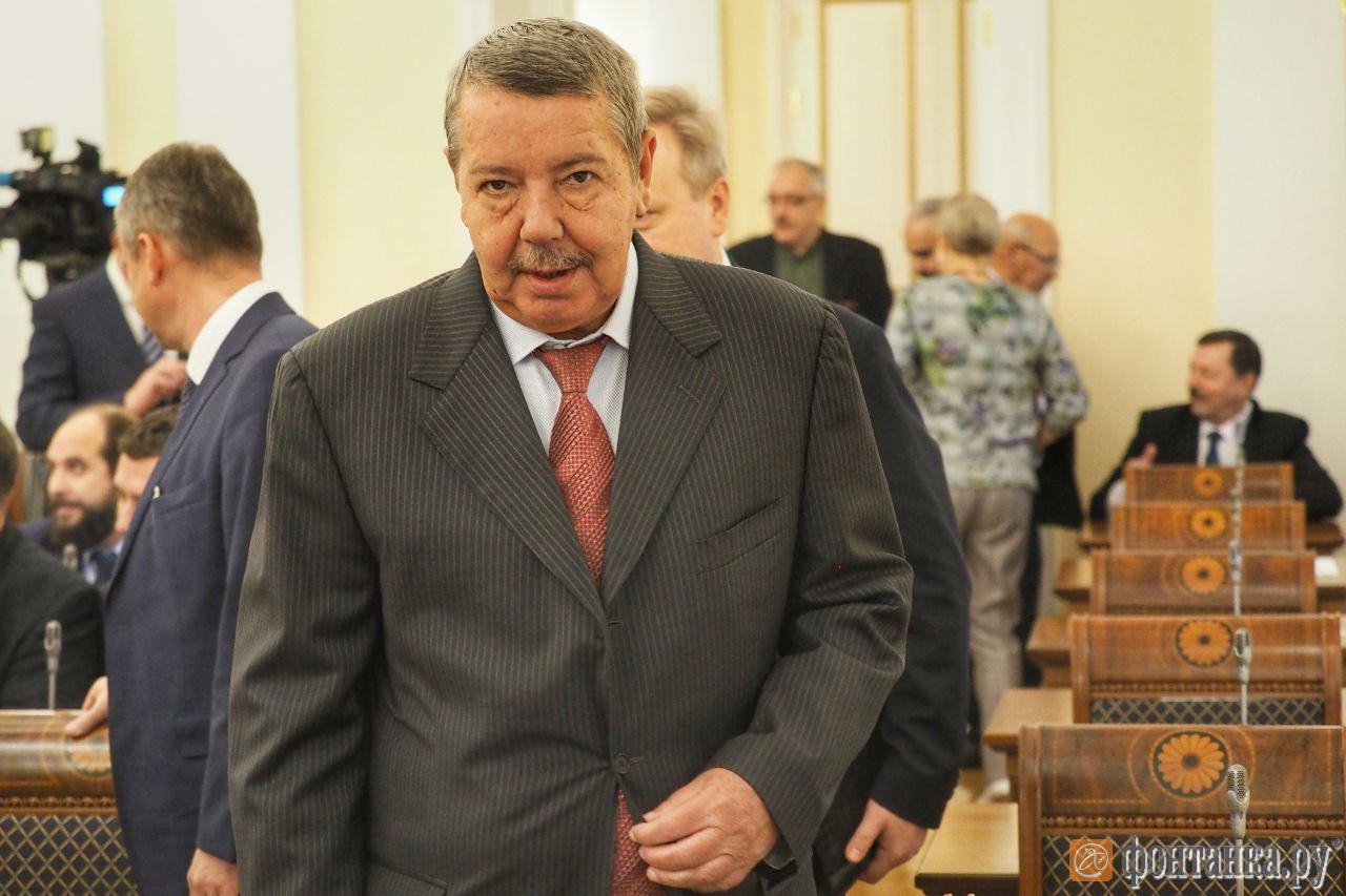 заместитель председателя Общественной палаты Санкт-Петерубрга Александр Вахмистров