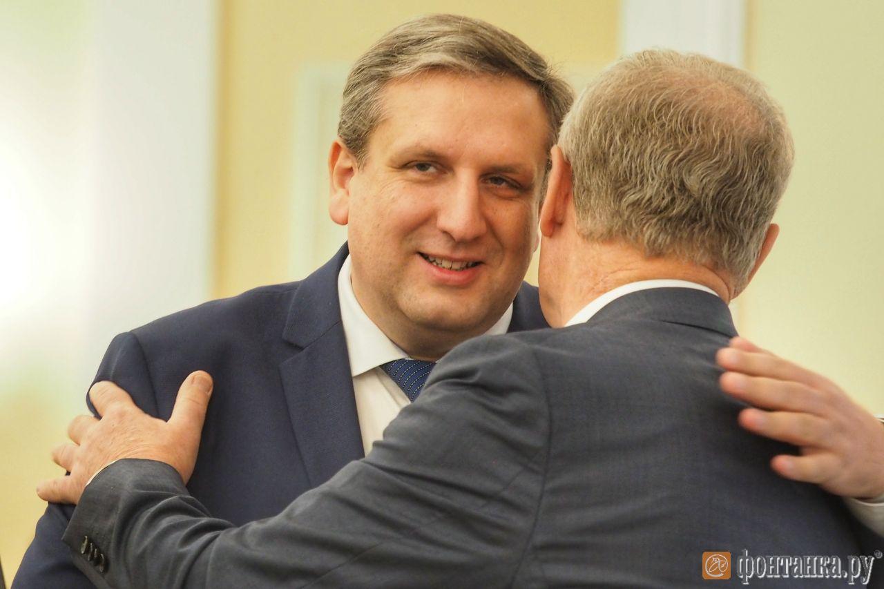 Председатель Комитета по промышленной политике и инновациям Санкт-Петербурга Максим Мейксин (Фото: Михаил Огнев)