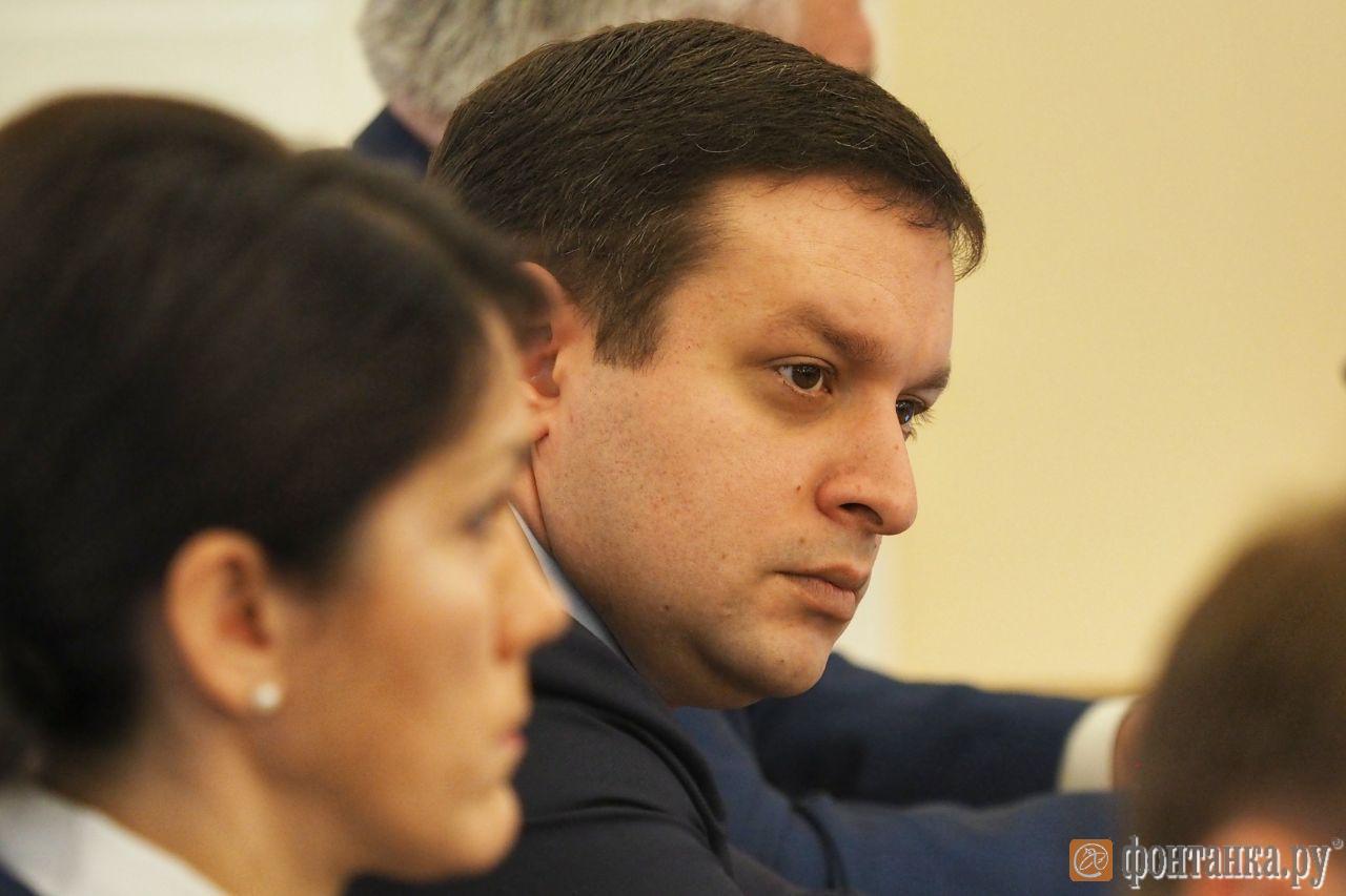 Начальник Аппарата Губернатора Санкт-Петербурга Давид Адамия