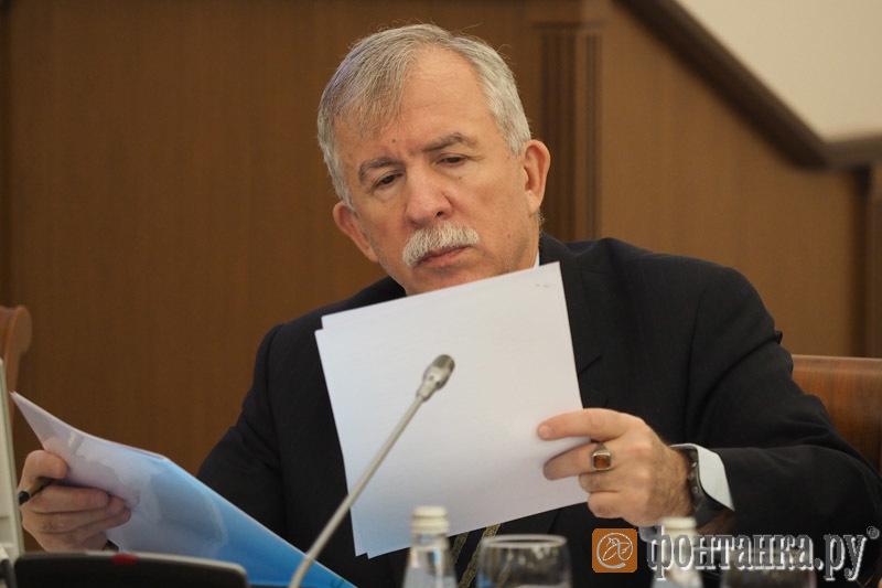 вице-губернатор Санкт-Петербурга Олег Марков