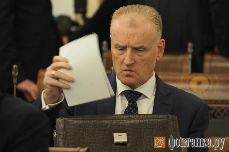 глава Администрации Кронштадтского района Олег Довганюк