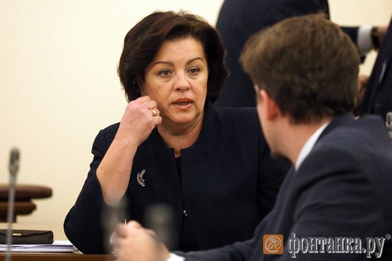 Председатель комитета по образованию Жанна Воробьева