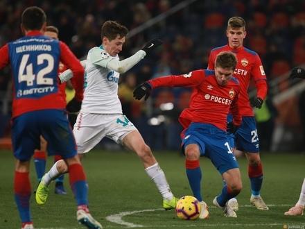 «Зенит» не дотянул до перерыва. ЦСКА хватило 26 минут для победы