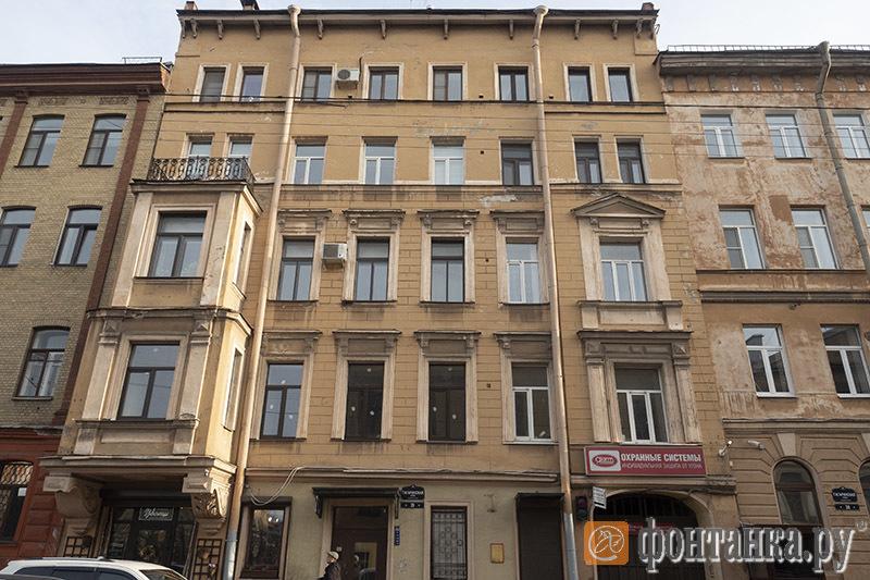 вид дома с улицы Гагаринская