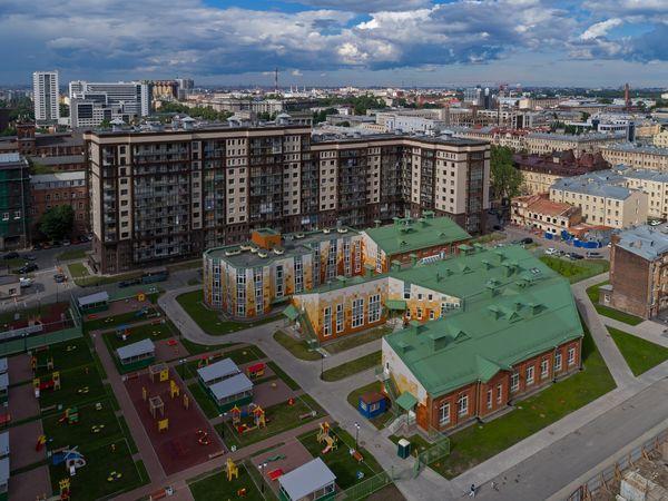 Группа «Эталон» построила новый детский сад в Московском районе Санкт-Петербурга