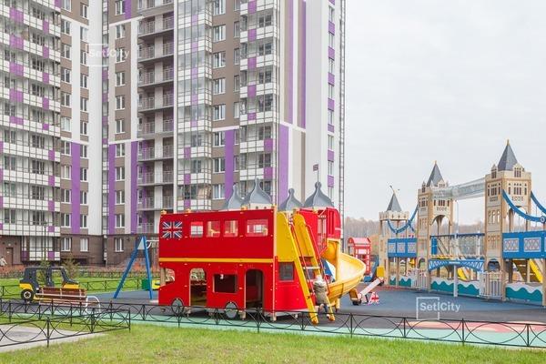 Детская площадка в ЖК «Лондон»