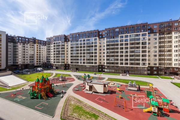 Детская площадка в ЖК «Солнечный город»