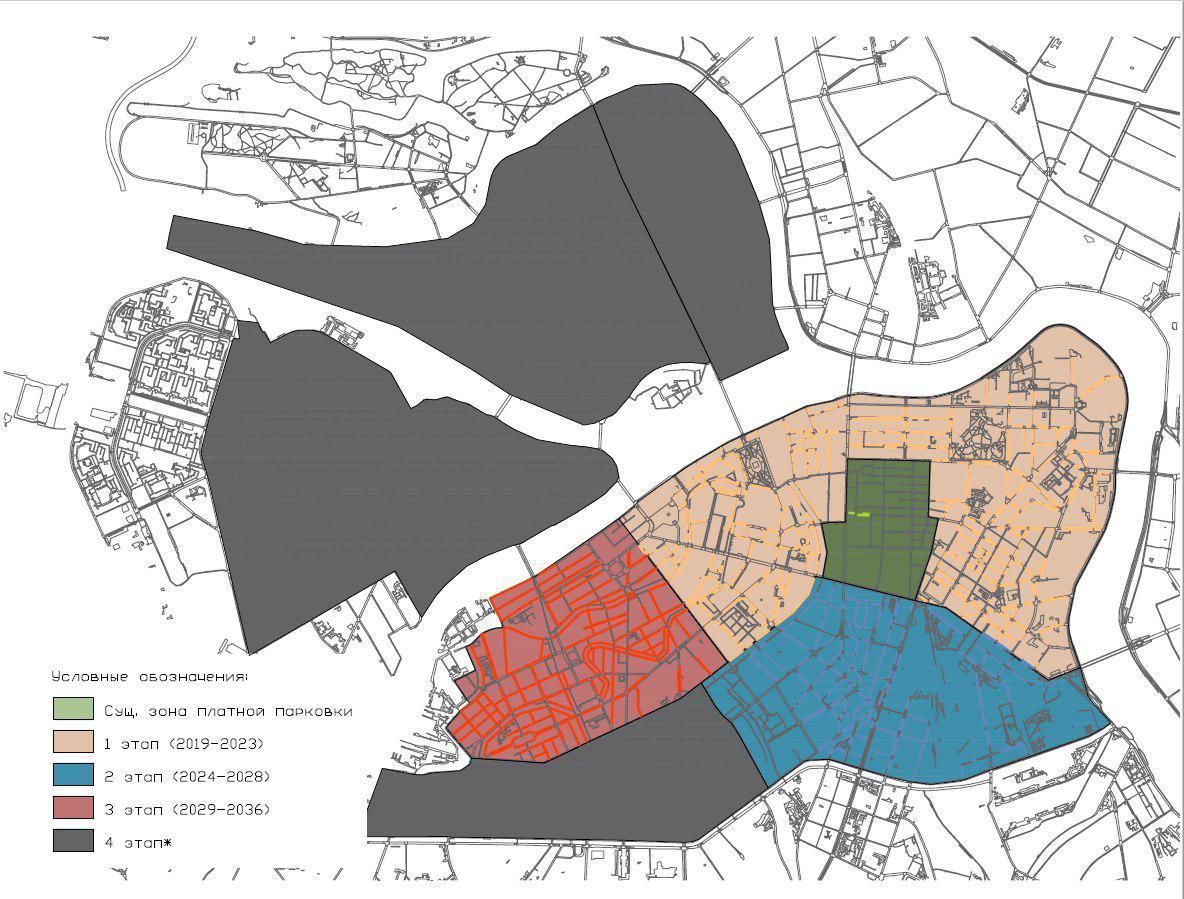 Источник: документация проекта Комплексной схема организации дорожного движения г. Санкт-Петербурга