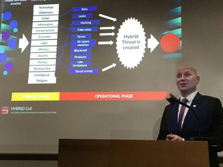 Заместитель директора Европейского центра по борьбе с гибридными угрозами, специалист по исследованиям и стратегическому анализу Каспер Кивисоо