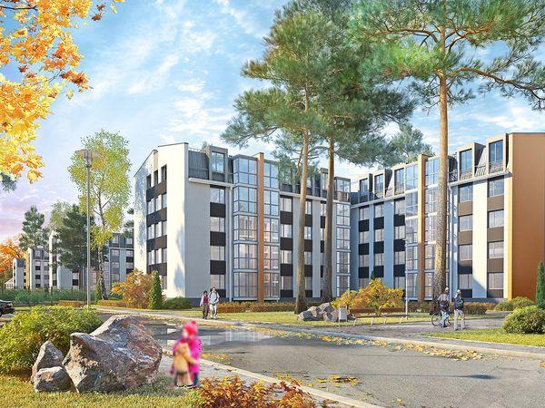 ЮИТ начал строительство домов четвертой очереди комплекса INKERI в городе Пушкин