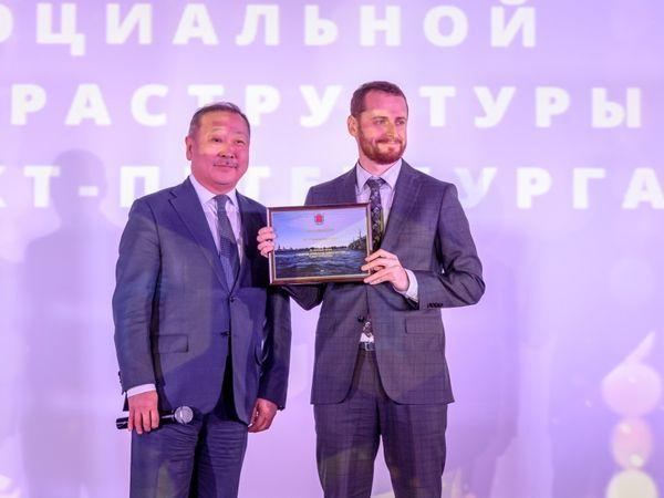 «Строительный трест» отмечен наградами «За весомый вклад в развитие социальной инфраструктуры»