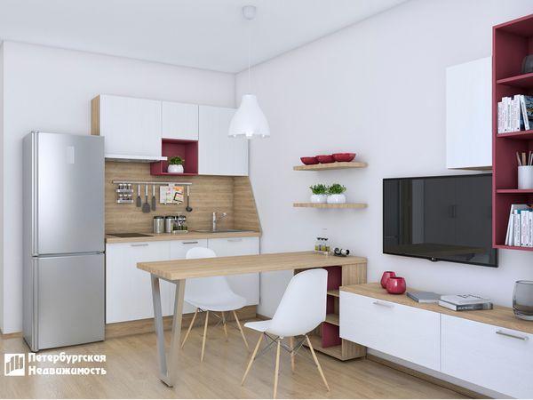 «Петербургская Недвижимость» представляет новый вариант меблировки квартиры