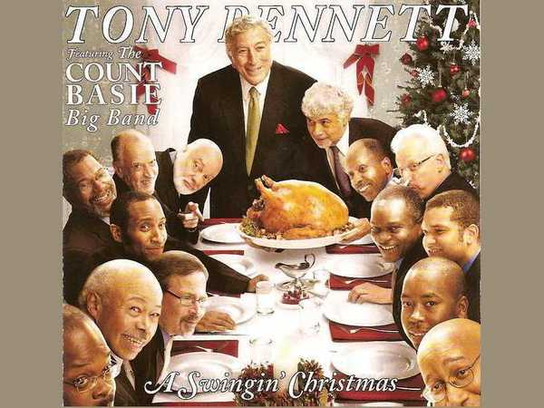 Tony Bennett Featuring The Count Basie Big Band ‎– A Swingin' Christmas