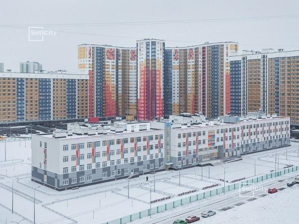 Setl City ввела в эксплуатацию ЖК «Полюстрово Парк» в Калининском районе