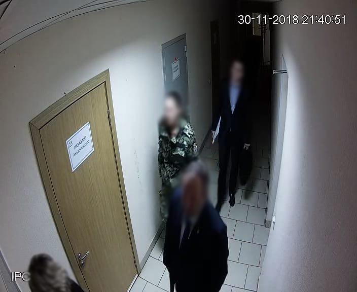 Сотрудница Следственного комитета при проверке заявления Свечина пришла на место происшествия