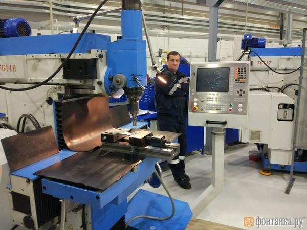 В Петербурге открыли завод по производству оборудования для добычи алмазов. Инвестиции составили 1,9 млрд рублей