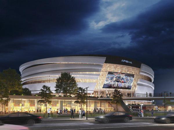 Градсовет Петербурга вновь раскритиковал проект новой хоккейной арены. Ротенберг опасается ухода инвесторов из города