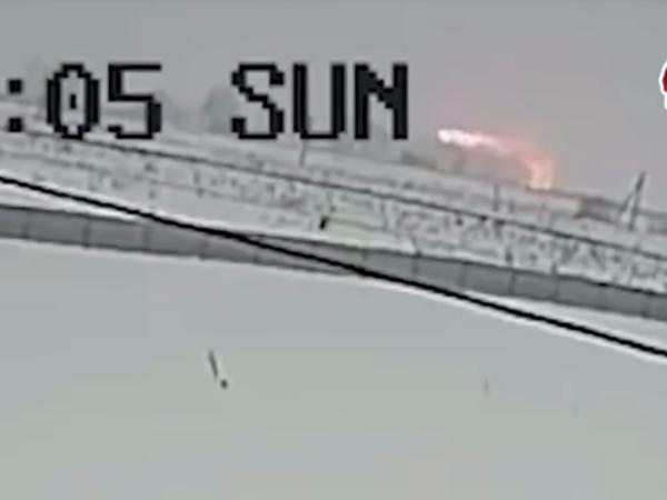 Падение самолета в Подмосковье попало на видео. Частиц взрывчатки не найдено