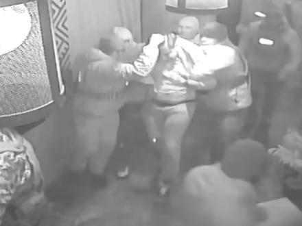 Саакашвили опубликовал видео своего задержания