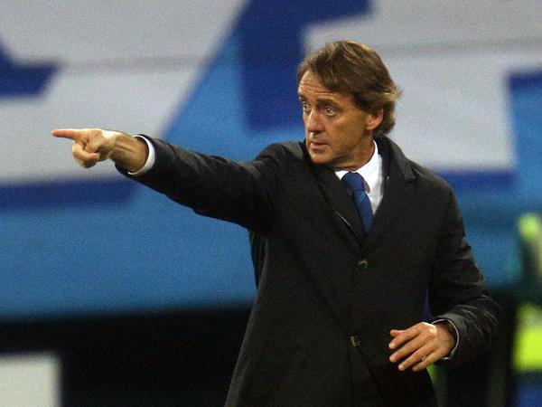 Манчини начал переговоры о работе в сборной Италии