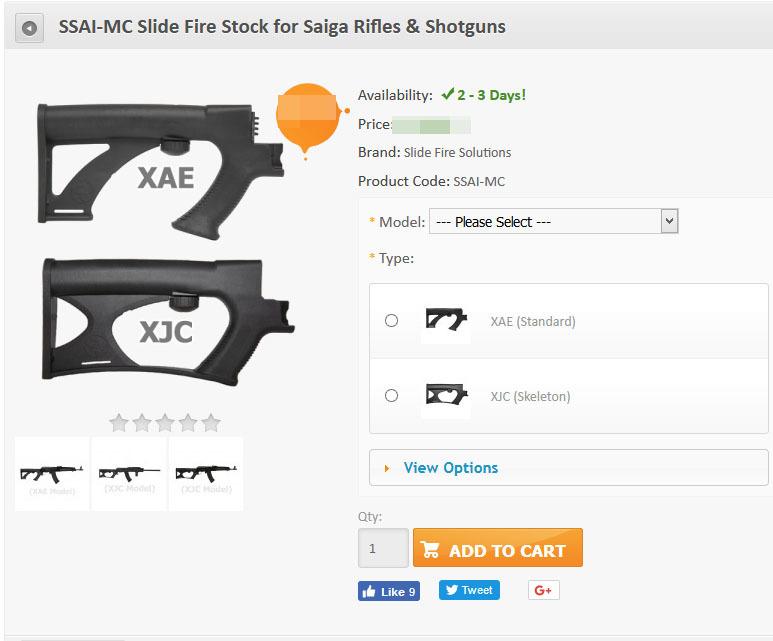 скриншот страницы интернет-магазина slidefirestock.com