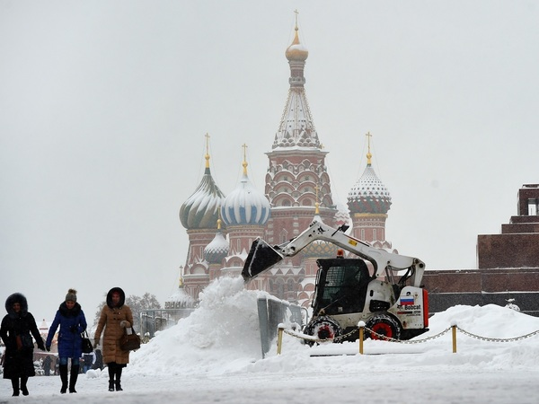 Под белым снегом февраля. Москва отбивается от стихии
