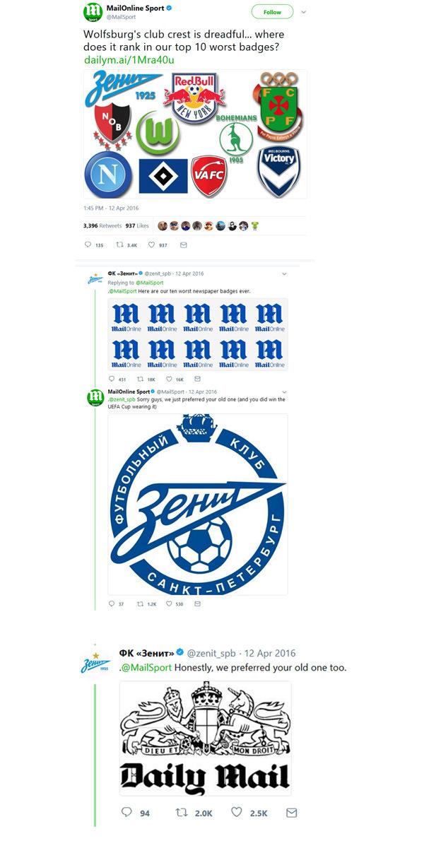 Артем Петров: У всех игроков «Зенита» есть Instagram. Кроме правых защитников (Иллюстрация 1 из 2) (Фото: скриншот/twitter.com)