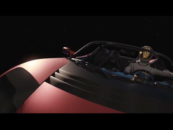 """Маск показал """"мультфильм"""" про старт Falcon к Марсу"""