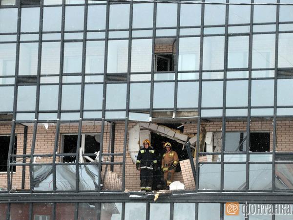 Фоторепортаж: Взрыв в Коломягах