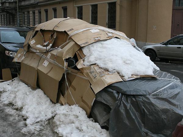 Лёд на вашу машину. Что делать?