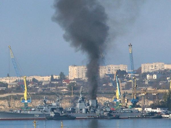 На кораблях ВМФ ищут «водяной туман»